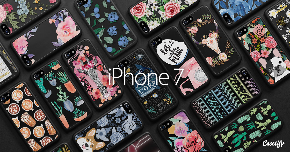 new concept f6272 cd782 Jet Black iPhone 7 Collection - Casetify