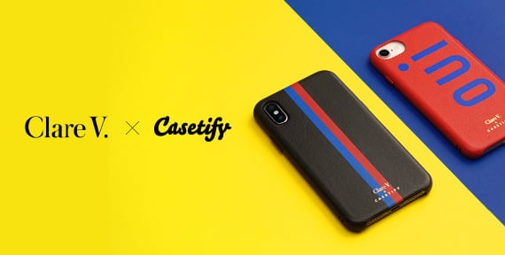 Clare V X Casetify Collection