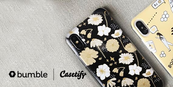 The Bumble x Casetify Collection