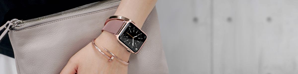Steel Mesh Apple Watch Band Collection
