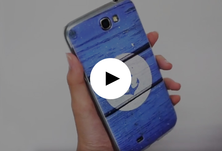Casetify Optimus G Pro Case printing quality demo video