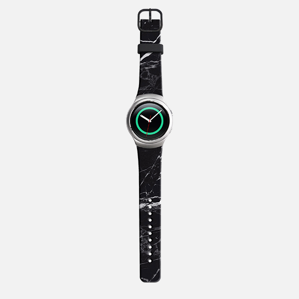 Samsung Gear S2 Sport Dark Marble Watch Band - Black