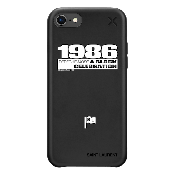 size 40 15d30 09e5f iPhone 8 - Saint Laurent X Casetify Matte Snap Case - Depeche Mode