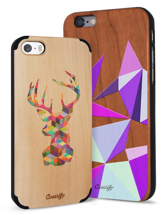 Casetify iPhone Woodcase